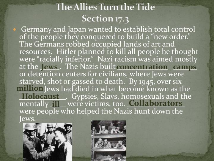 the allies turn the tide section 17 3