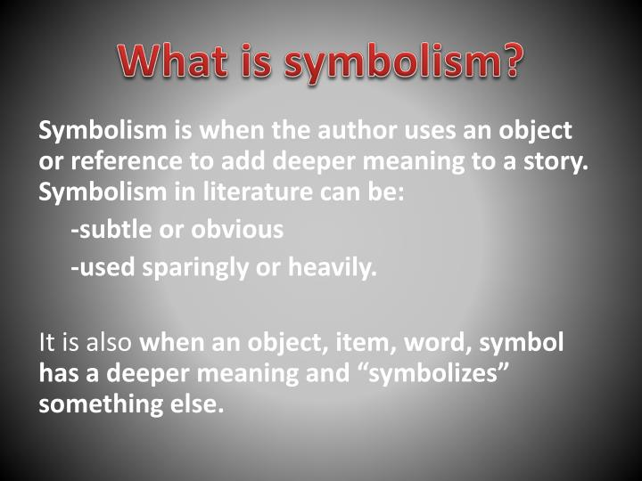 Ppt Allegory And Symbolism Powerpoint Presentation Id2872558