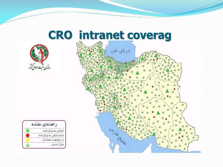 CRO  intranet