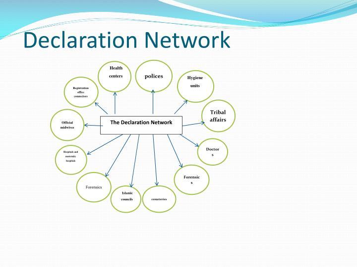 Declaration Network