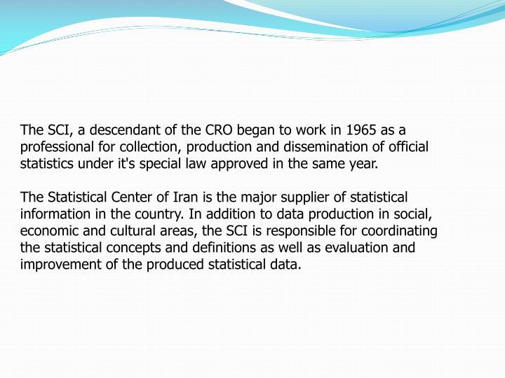 The SCI, a descendant of the