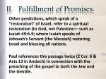 ii fulfillment of promises8