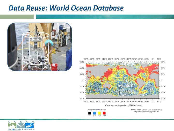 Data Reuse: World Ocean Database