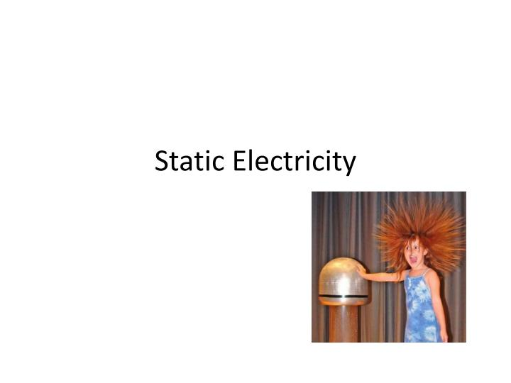 static electricity n.