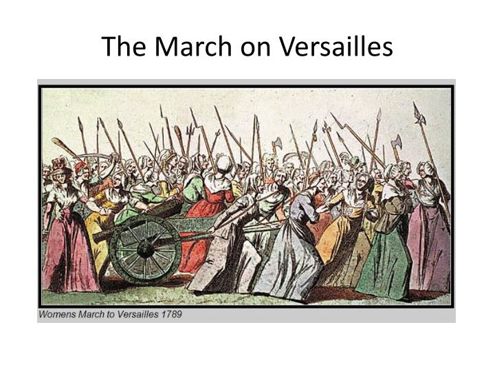 The March on Versailles