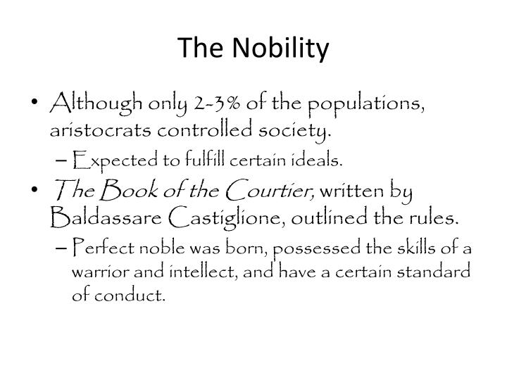 The Nobility