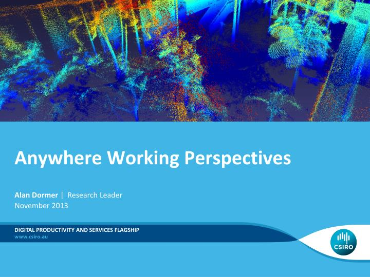 anywhere working perspectives n.