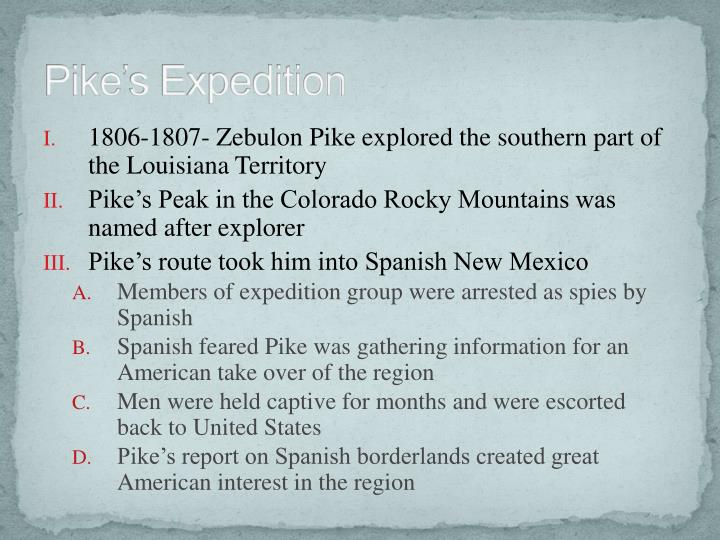 Pike's Expedition