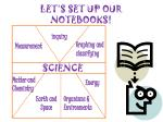 let s set up our notebooks6