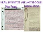 real scientist use notebooks1