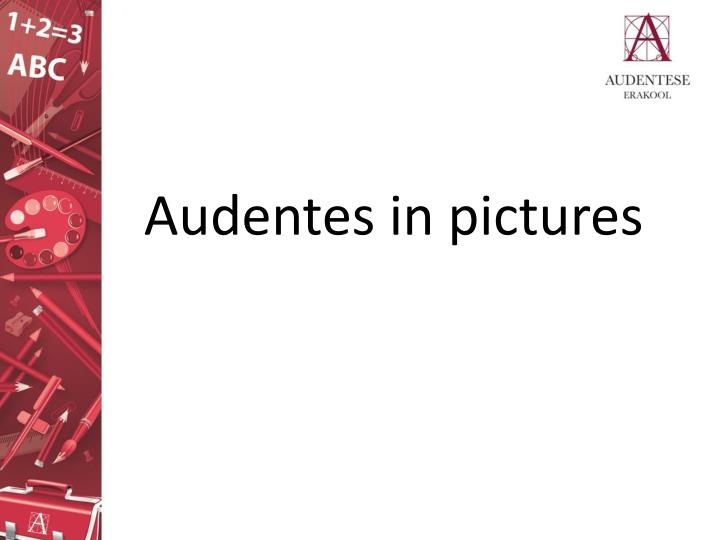 audentes in pictures n.