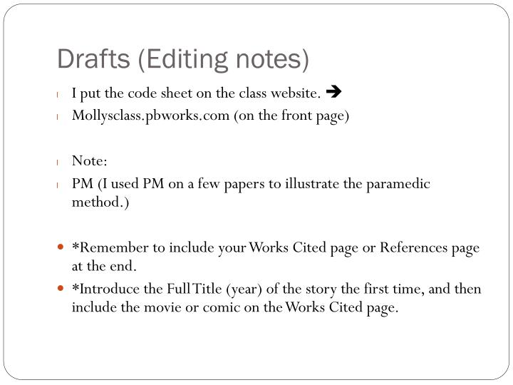 notes works cited page Mla, difference between a bibliography and a works cited page – a free powerpoint ppt presentation (displayed as a flash slide show) on powershowcom.