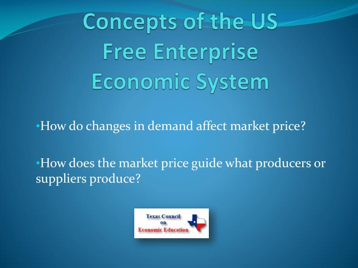 the us free enterprise economy essay Any opinions, findings, conclusions or recommendations expressed in this material are those of the authors and do not necessarily reflect the views of uk essays published: mon, 5 dec 2016 the success of america over the centuries has been helped enormously by immigrants into the country.