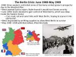 the berlin crisis june 1948 may 1949