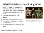 us ussr relationship during wwii1