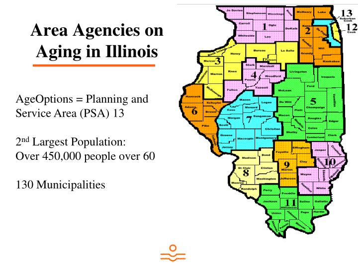 Area Agencies on Aging in Illinois