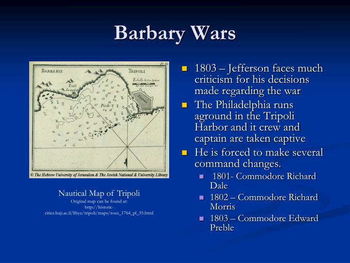 Barbary Wars
