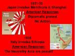 1931 32 japan invades manchuria shanghai