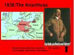 1938 the anschluss