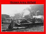hickam army airfield