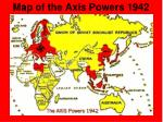 map of the axis powers 1942