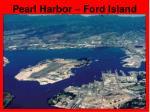 pearl harbor ford island