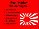 pearl harbor the damages
