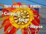 three main genres of music