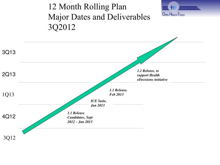 12 Month Rolling Plan