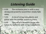 listening guide5
