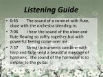 listening guide6
