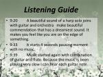 listening guide8