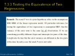 7 3 3 testing the equivalence of two regressions3