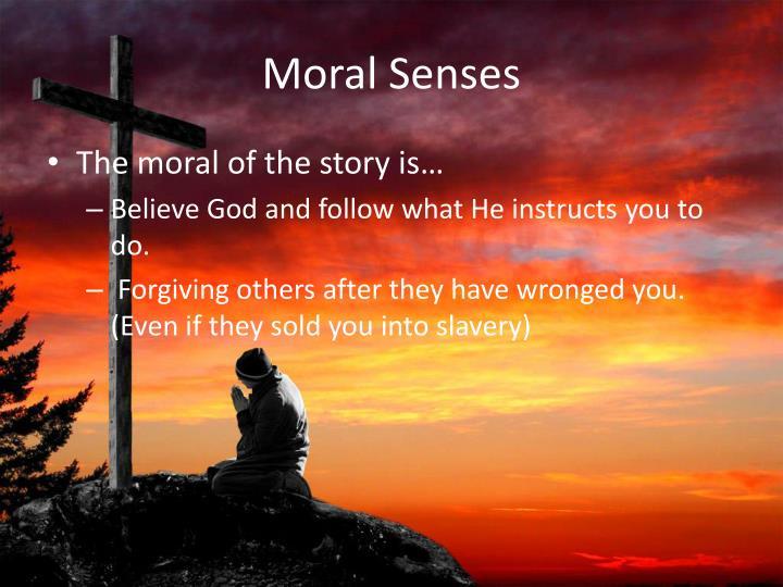 Moral Senses