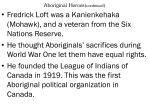 aboriginal heroes continued