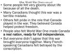 after world war one continued