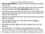 famous canadian soldiers and aces1