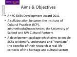 aims objectives