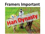 framers important