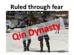 ruled through fear1