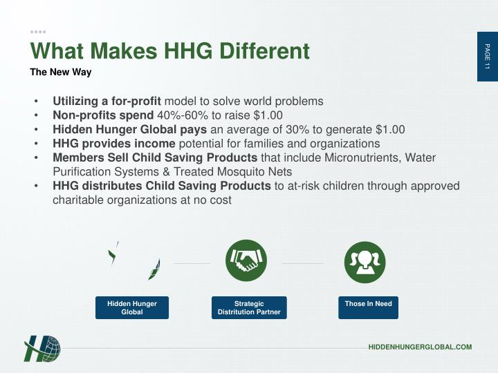 What Makes HHG Different