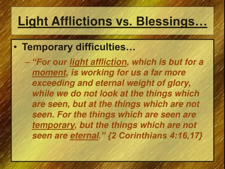 Light Afflictions v