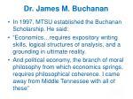 dr james m buchanan4