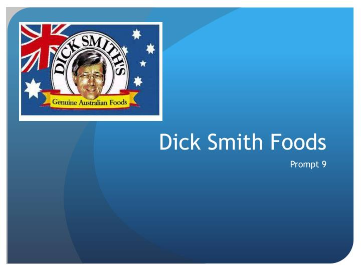 dick smith foods n.