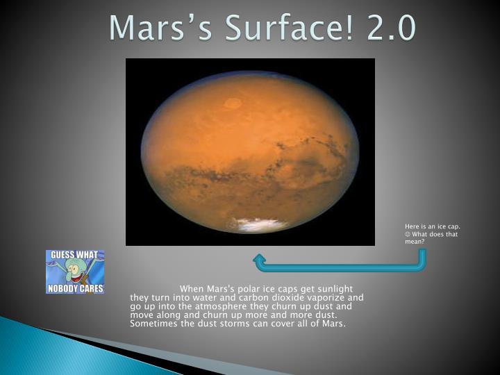 Mars's Surface! 2.0