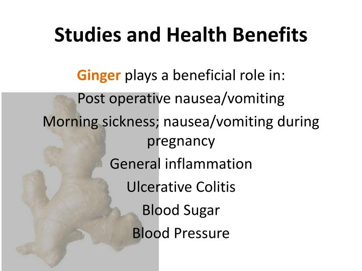 Studies and Health Benefits