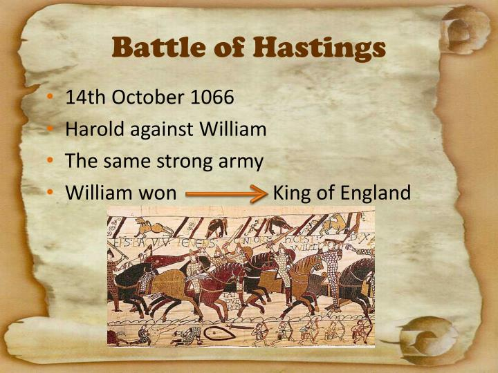 why did william the conqueror win the battle of hastings Why did william the conqueror win the battle of hastings why did william the conqueror win the battle of hastingsthe battle of hastings was fought on 14th october 1066 - between harold godwinson of england and william of normandy.