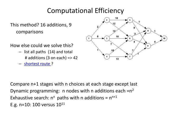 Computational Efficiency