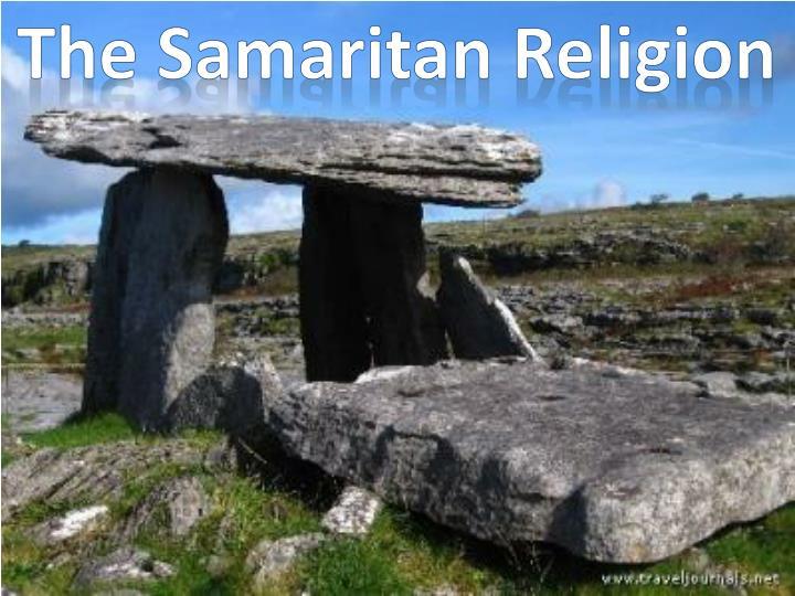 The Samaritan Religion