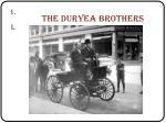 the duryea brothers